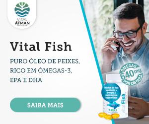 Vital Fish - rico em ômegas 3, EPA e DHA