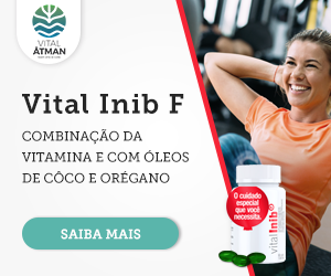 Vitamina E com óleos de côco e orégano - Vital Inib F